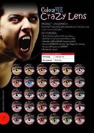 crazy color contact lenses
