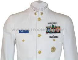 new navy dress whites