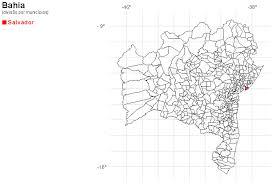 mapa geografico da bahia