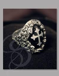 mens gothic ring