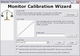 monitor calibration images