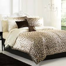 leopard bedroom accessories