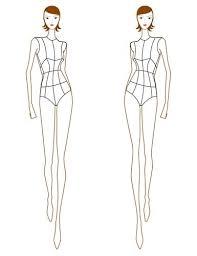 fashion figure sketches