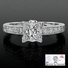 diamond band engagement ring