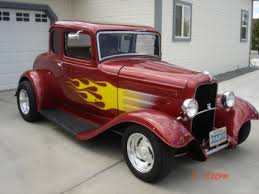 1932 ford five window coupe