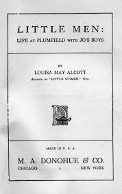 louisa may alcott little men