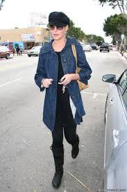 long jean coat