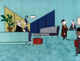 cartoon modern