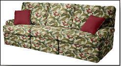 plaid sofas