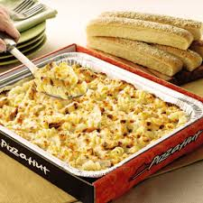 pizza hut chicken alfredo