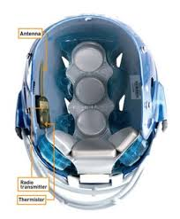 high school football helmet