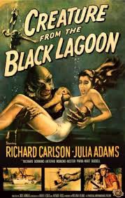 creature from the black lagoon posters