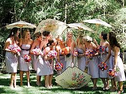 bridal parasol