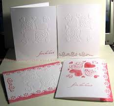 dry embossing