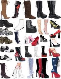 costumes with boots