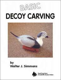 decoy carving