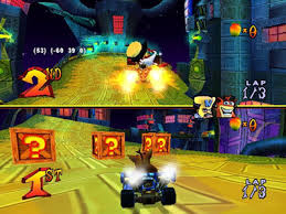 crash kart racing