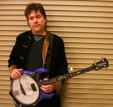 Béla Fleck is seen here