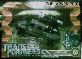 ironhide toy