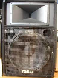 yamaha dj speakers