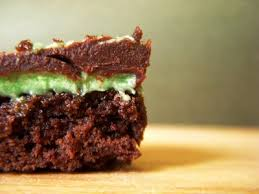 chocolate mint brownie