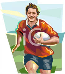 clipart rugby