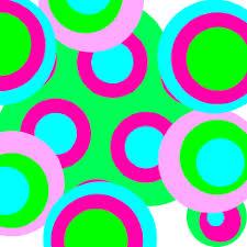colorful polka dot