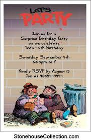 funny party invitations