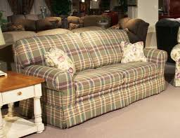 plaid couches