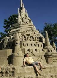 sand castle building