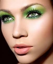 green eye make up tips