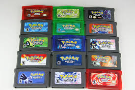 gameboy advanced pokemon games