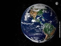 vista satelital de la tierra