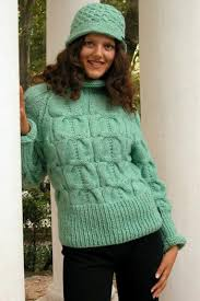 knitted pullovers