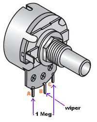 potentiometer wiper