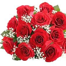 red flowers bouquets