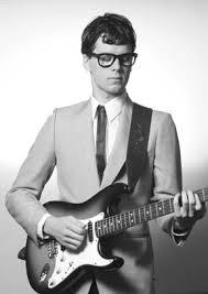 black retro glasses