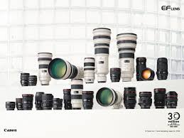 all canon lenses