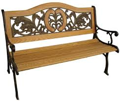 cast iron park benches