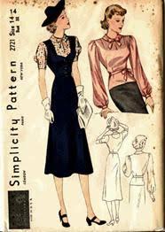 1930s clothes