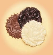 flower and chocolate