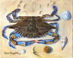 crab paintings