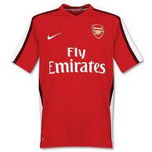 arsenal jersey 2009