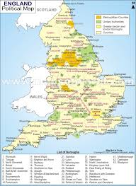england city map