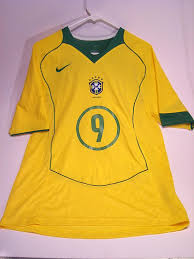 ronaldo jersey brazil