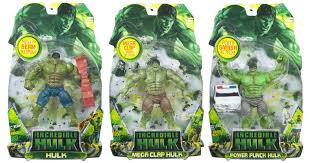 incredible hulk action figures