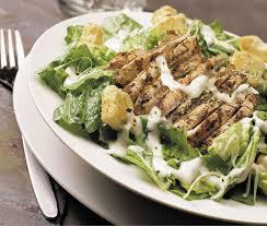 chicken caesar salads