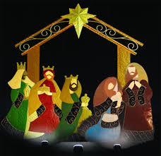 nativity set stable