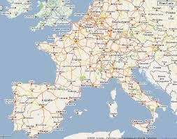 google maps of france