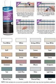grout colour